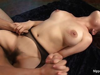 Asian hottie takes anal punishment from huge black cock tmb
