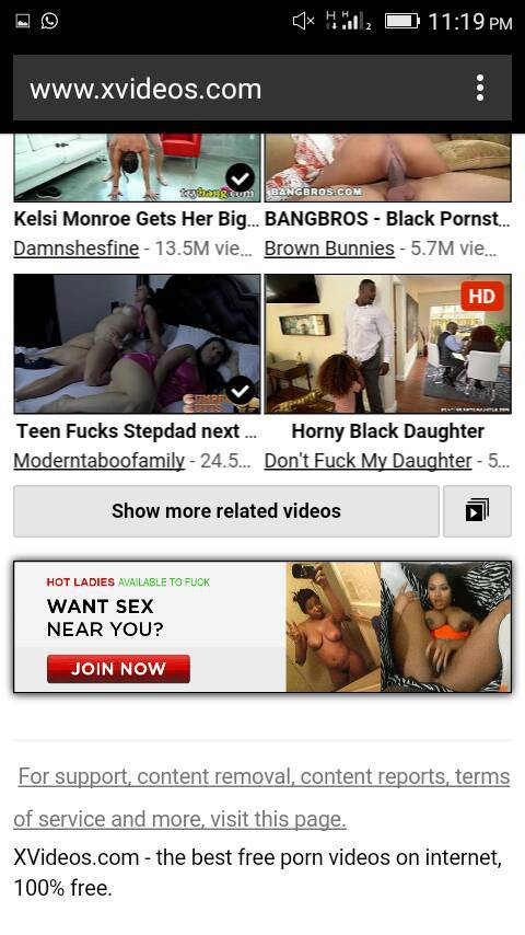 Xvideos terms of service