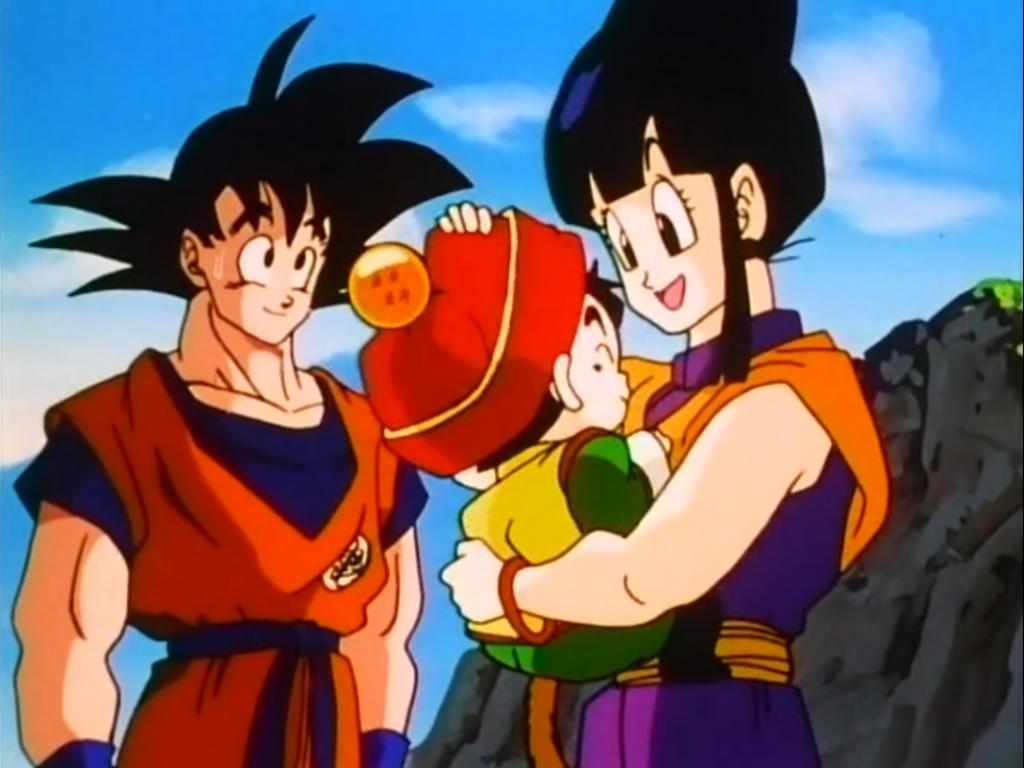 Dragonball goku and chi