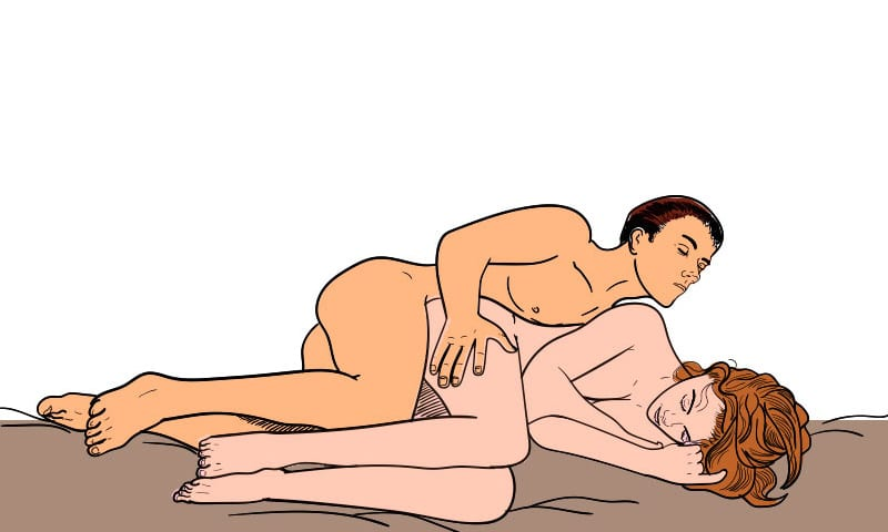 Womens favourite anal position