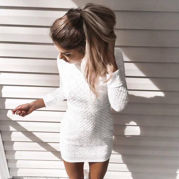 Sexy white dress tumblr