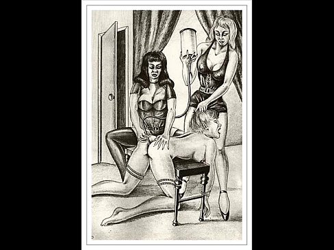 Bdsm fetish ancient drawings