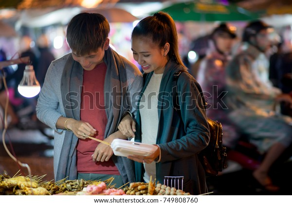Young asian street meat