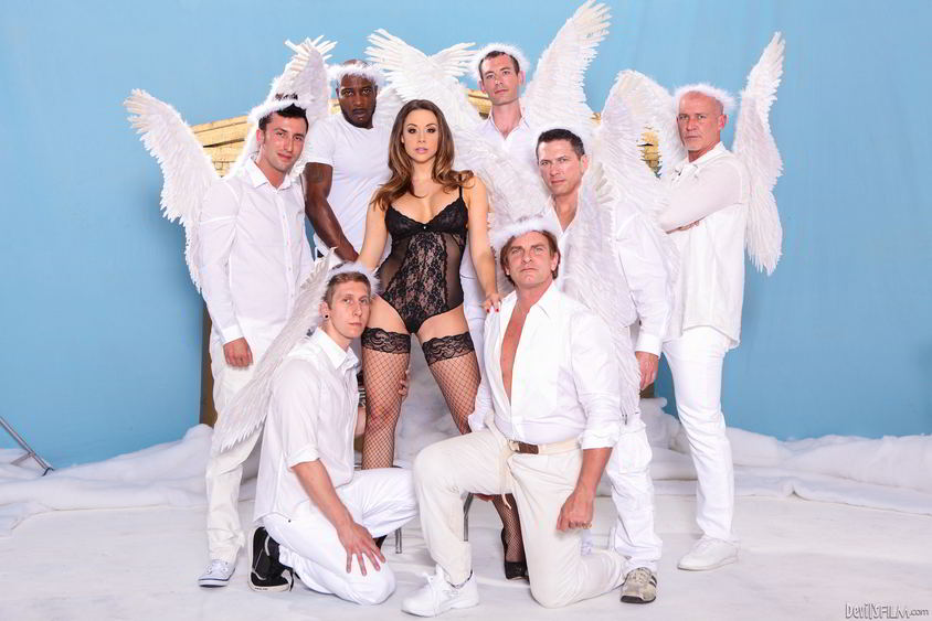 The devil gangbang chanel preston lisa ann with