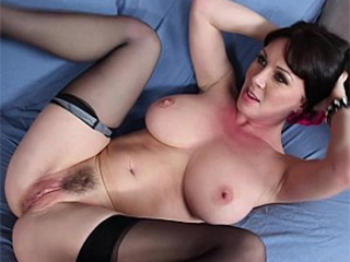 Stockings mom fucked song in home