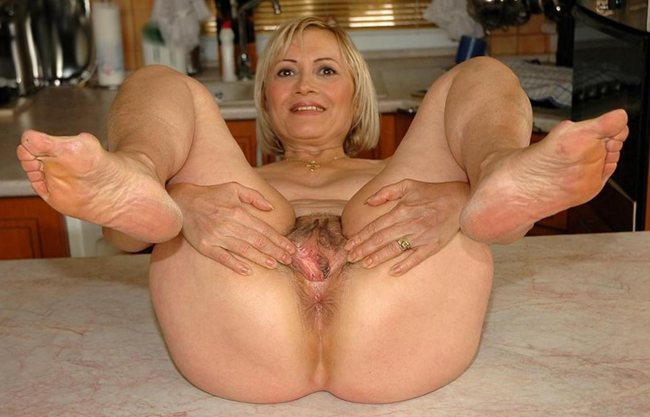 Piercing category of this granny porn site