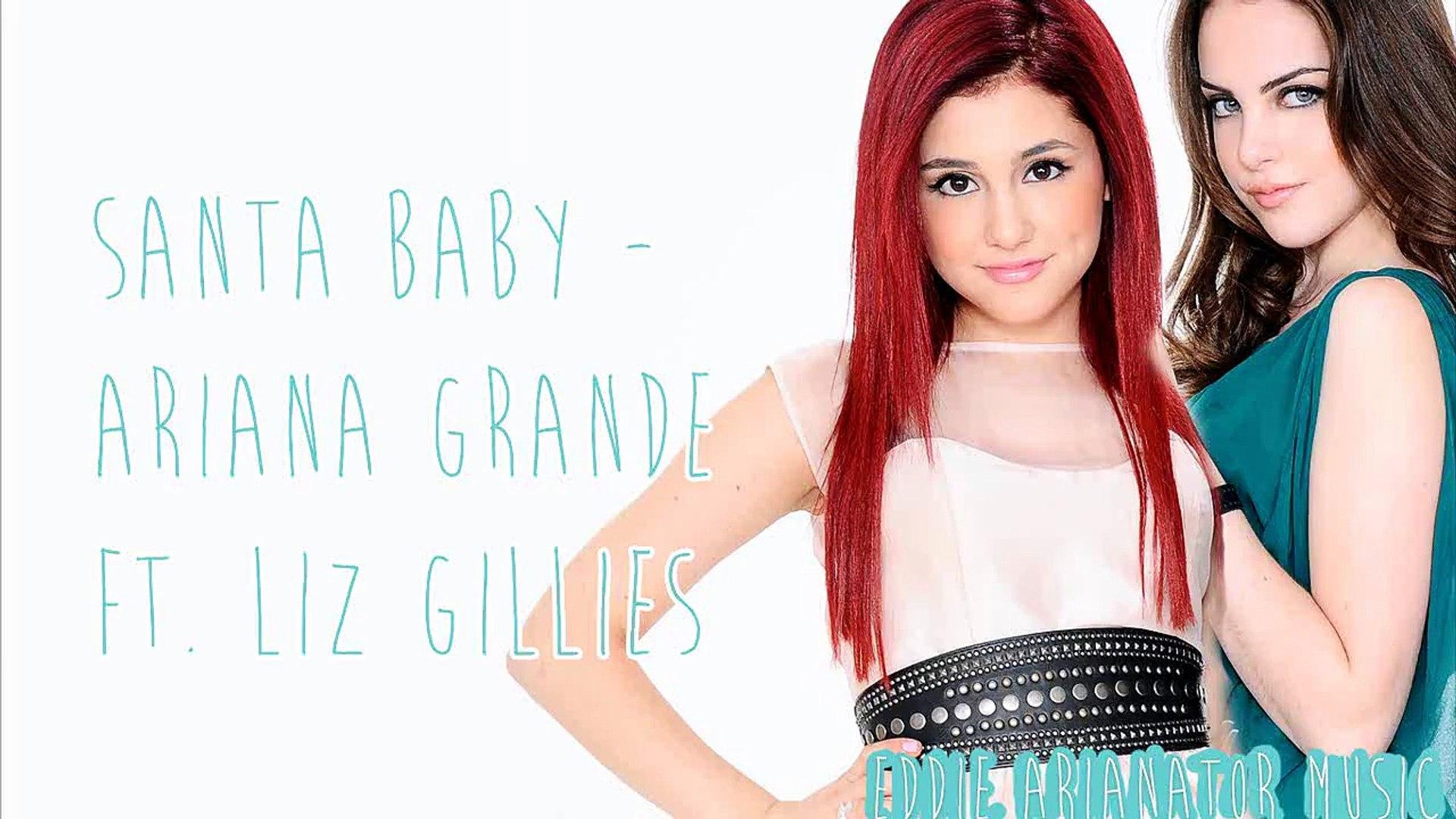 Ariana grande kiss elizabeth gillies victorius ariana