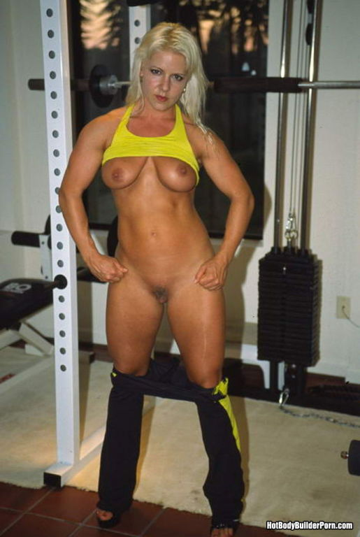 All girl fitness porn