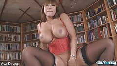 Busty asian milf behind the scenes mobile porno
