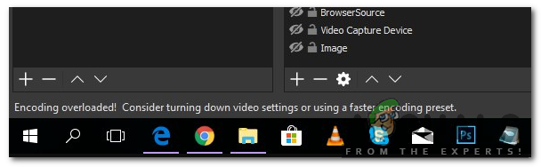 Obs how to fix high encoding