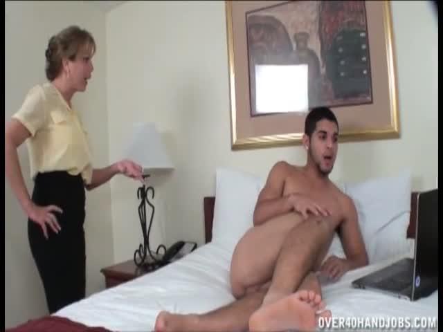 Mere surprend fils porno