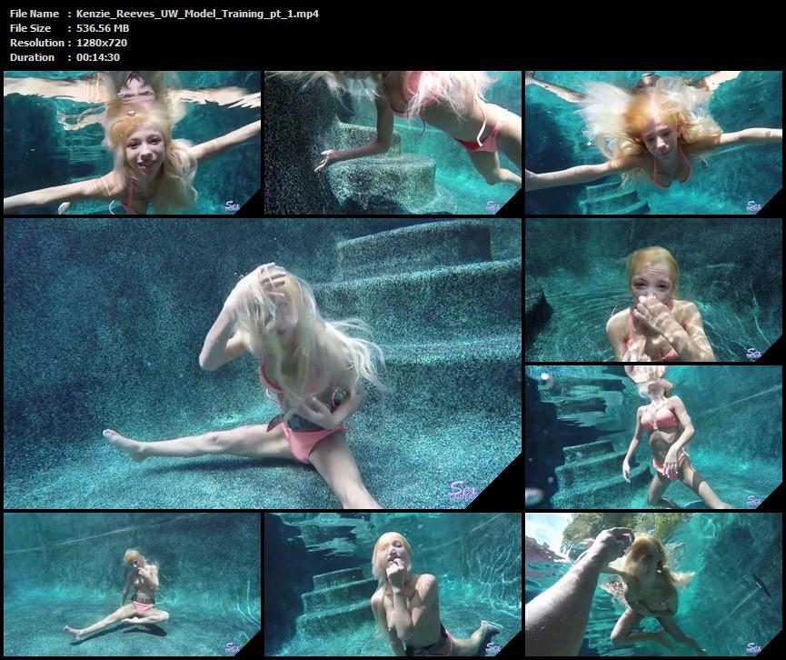 Kenzie reeves underwater sex