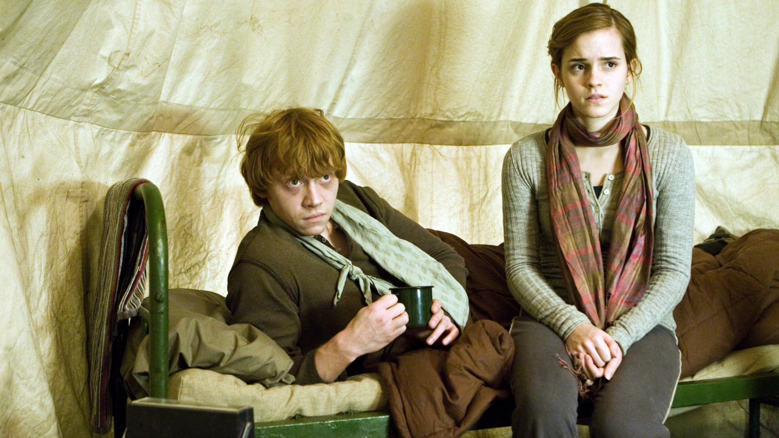 Hermione and ron first year romione photo