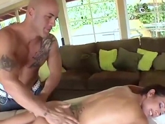 Wet brunette capri cavalli gets her hole filled with cock