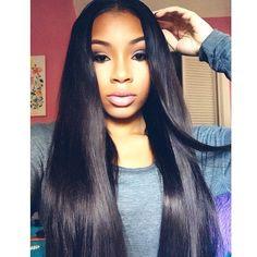 Black girl with straight hair tumblr