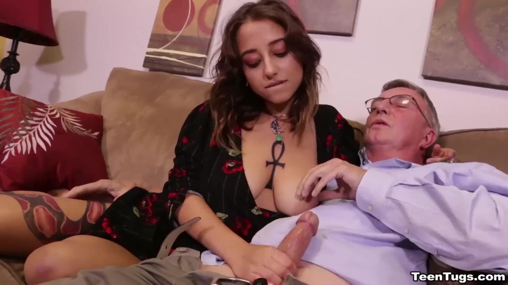 Women catching men jerking off