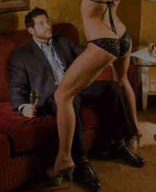 Strip club lap dance porn