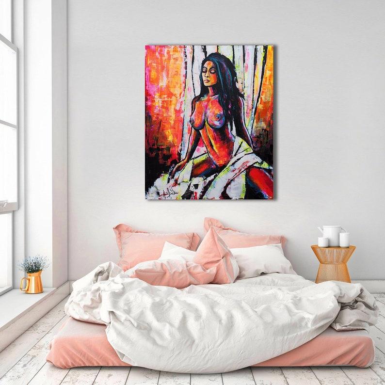 Erotic nude art on pinterest feminist art black women