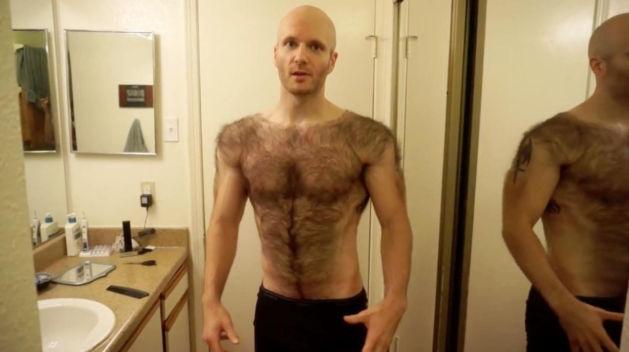 Hairy chested boys