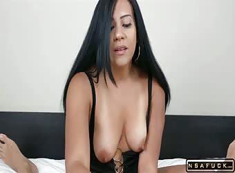 Amature homemade sexy puerto rican latina pov blow job