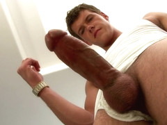 Straight guy forced to suck dick
