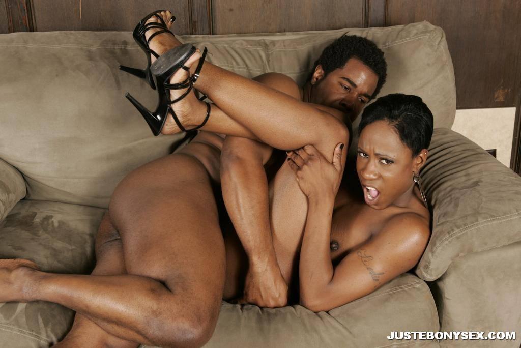 Sexy skinny black girl porn