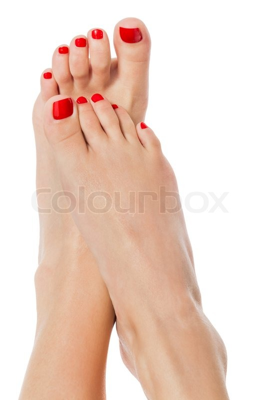 Sexy female feet pics