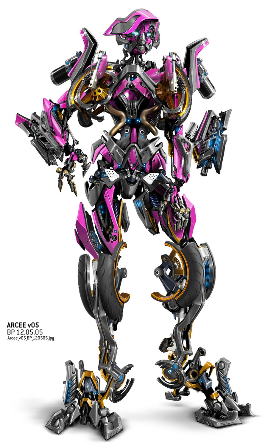 Arcee e ratchet transformers