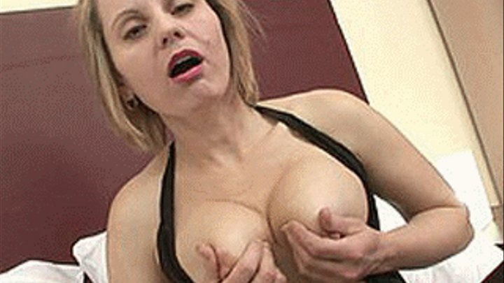 Filthy blonde rikki six uncovers bosomy body and gets