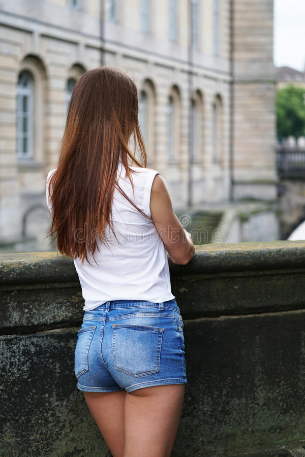 Big ass booty in booty shorts hot girls wallpaper