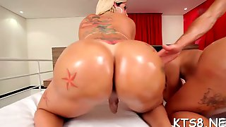 Girl fucked by two guys