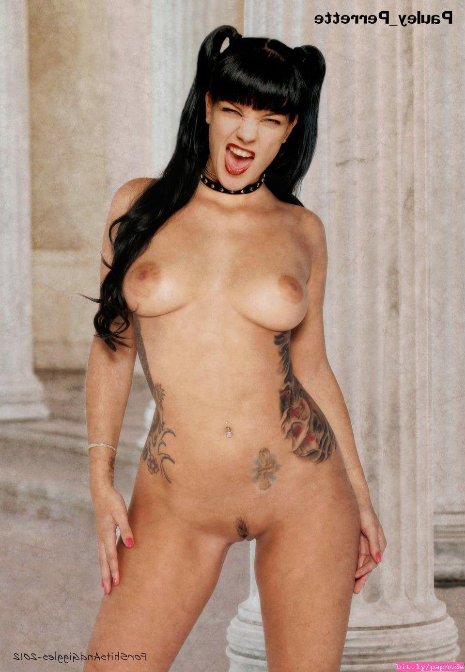 Pauley perrette ever been nude