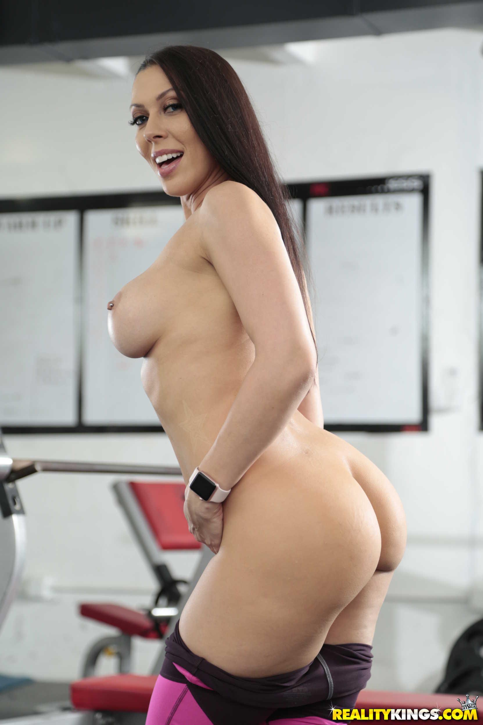 Big tits satin blouse