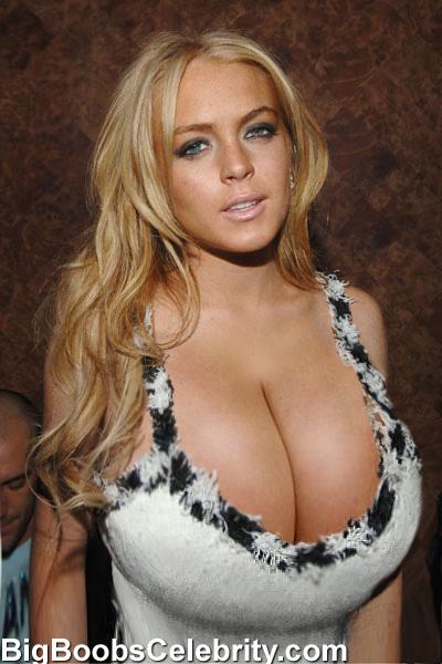 Lindsay lohan big boobs
