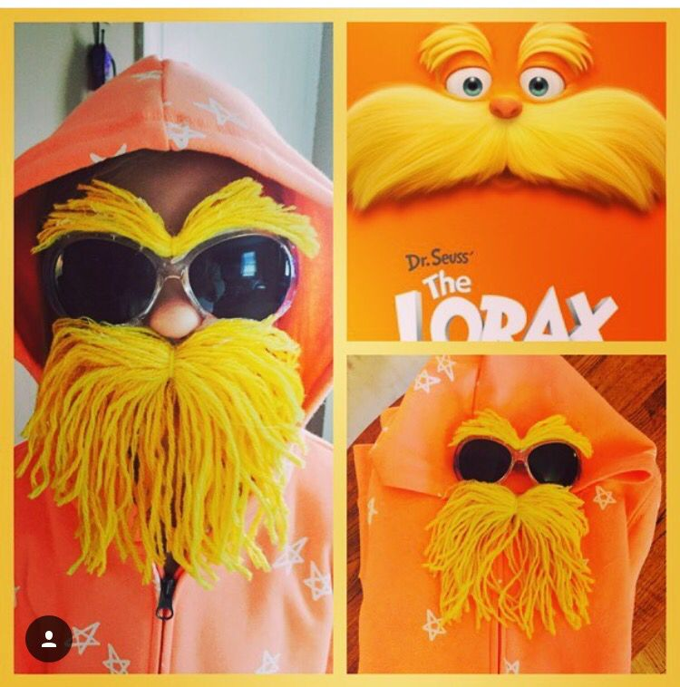 Best lorax costume ideas on pinterest seuss