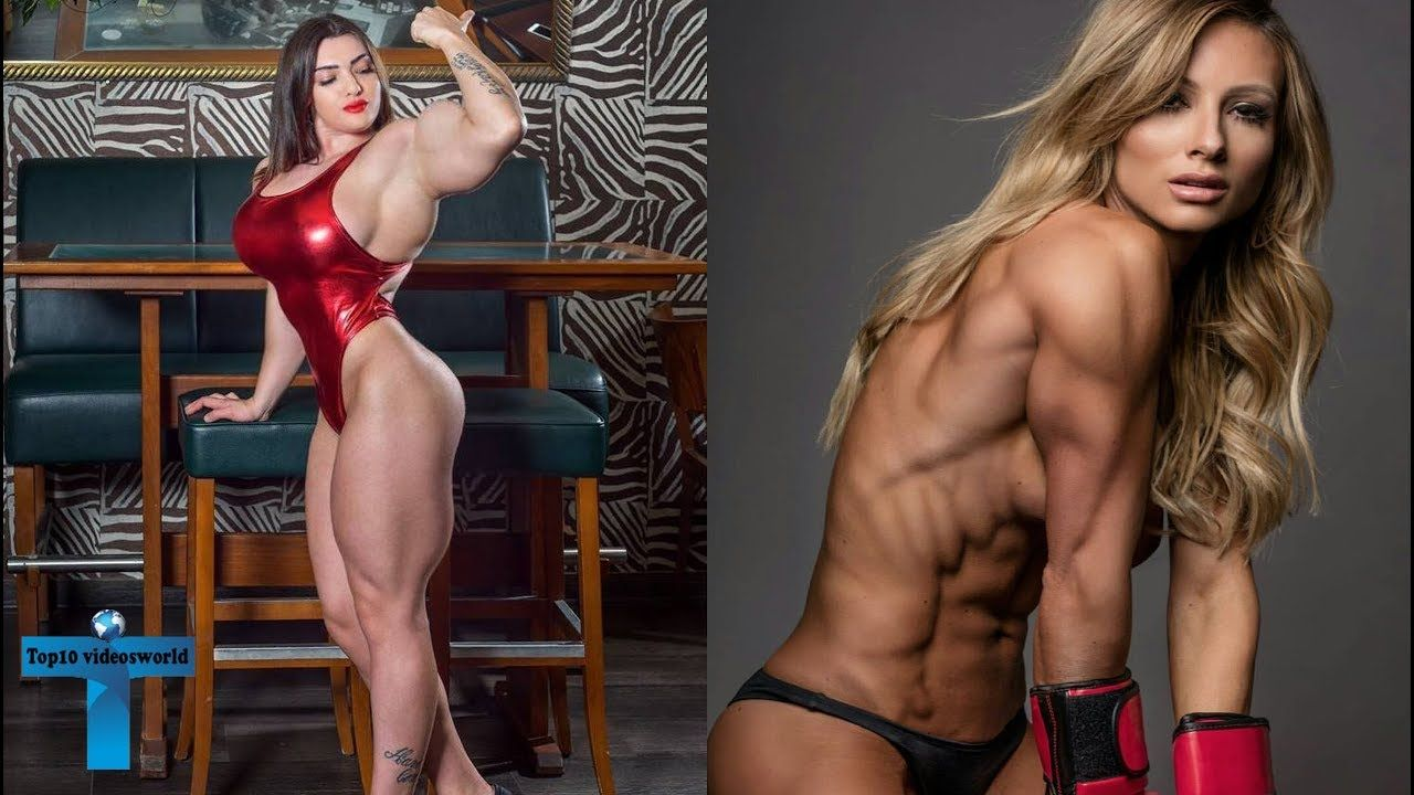 Hairy female bodybuilders