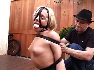 Helpless oiled bondage girl free tubes look excite