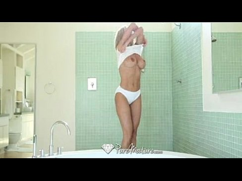 Hot milf brandi love gets it in the shower sexy wives nude