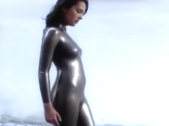 Latex cop porn movies fetish lingerie sex videos
