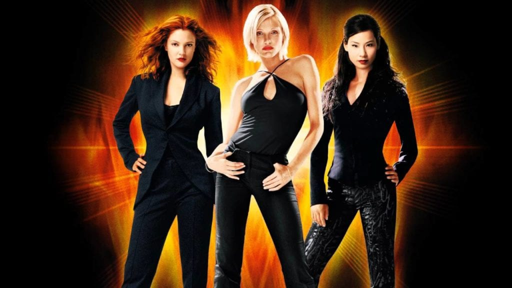 Lesbians from charlie angels