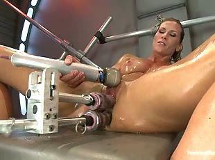 Machines lesbian extreme orgasm mature machines