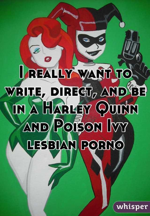 Poison ivy lesbian porn