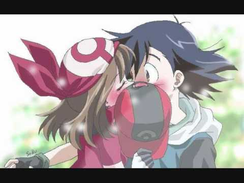 Pokemon may and ash kiss episode