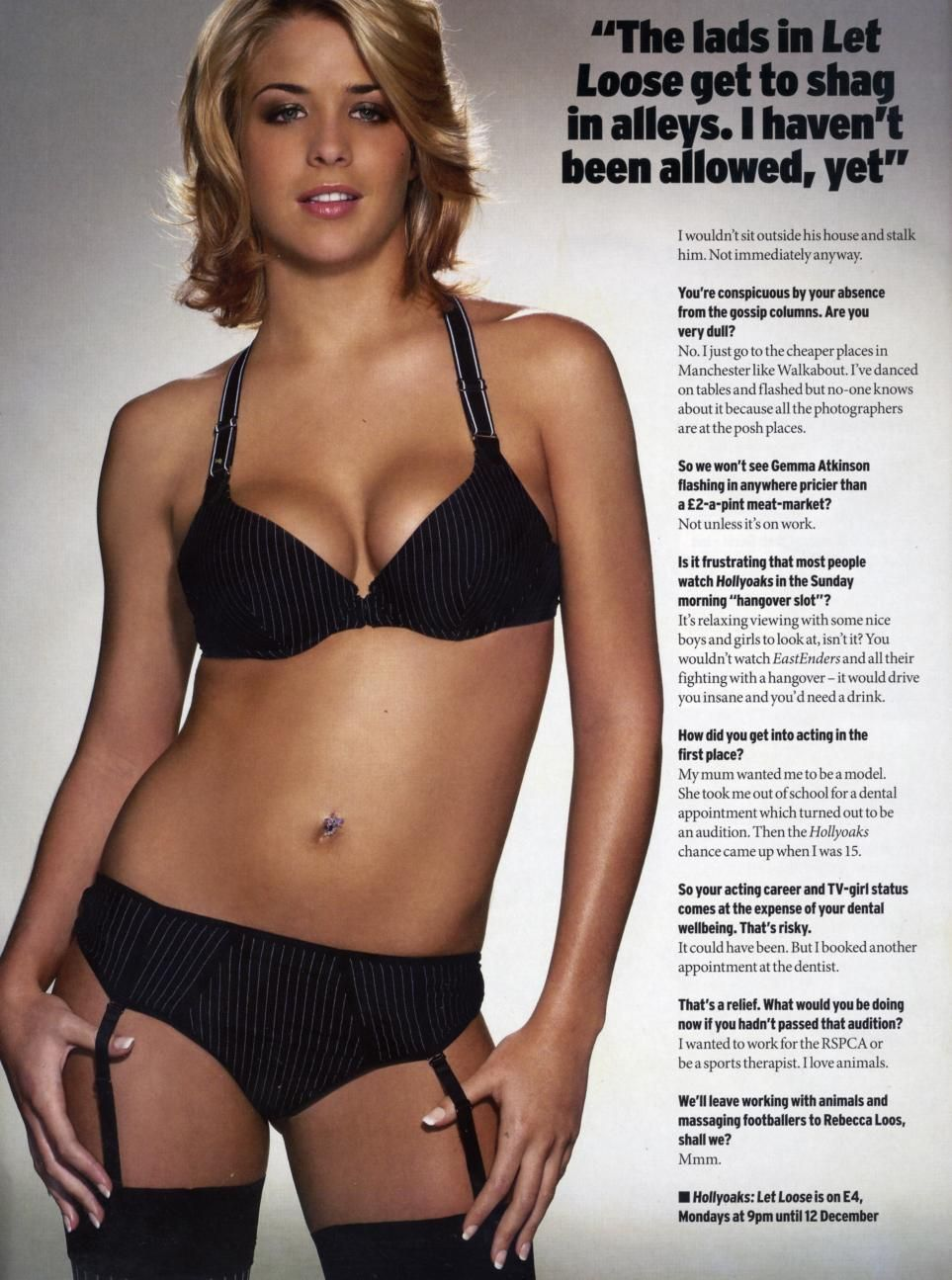 Samantha siddall nude