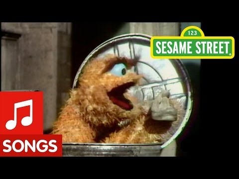 Sesame street i love trash youtube