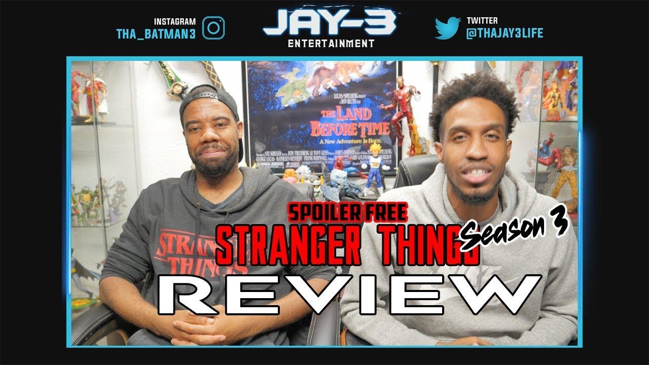 Stranger things season review spoilers movie news