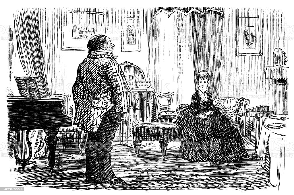 The lady and her butler free