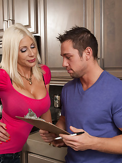 Showing porn images for hot milf fucks sons friend porn
